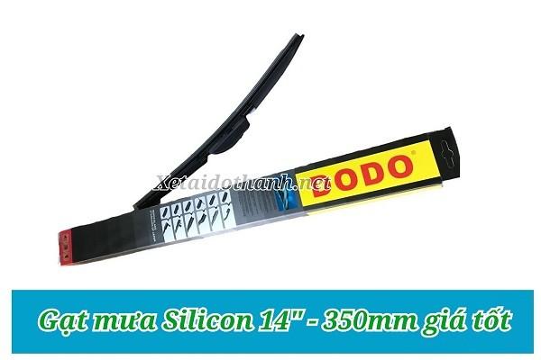 Gạt mưa Silicon 14'' - 350mm - Phụ tùng Ô Tô Phú Tiến 1