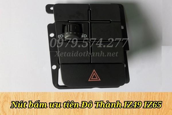 Nút Bấm Ưu Tiên Xe Tải Đô Thành IZ49 IZ65 - Phụ Tùng Chính Hãng 1