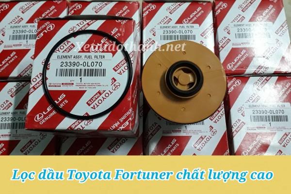 Lọc nhiên liệu Toyota Fortuner - Phụ Tùng Ô Tô Phú Tiến 1