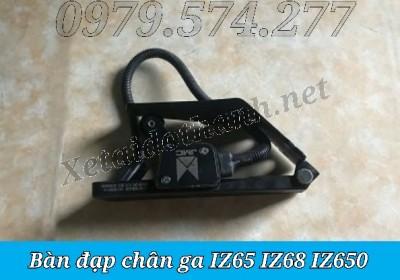 Bàn Đạp Chân Ga IZ65 IZ68 IZ650 Giá Tốt - Phụ Tùng Đô Thành
