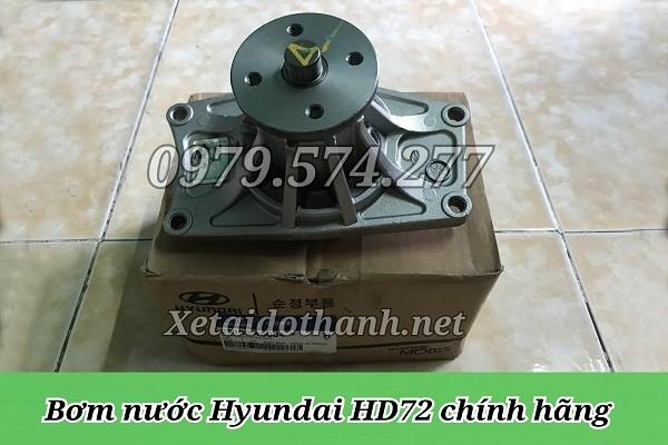 Bơm nước Hyundai HD72 HD99 HD120SL - Phụ Tùng Chính Hãng 1