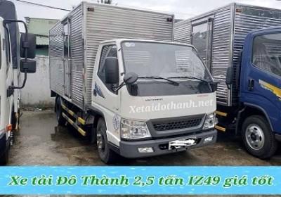 Giá xe tải Đô Thành IZ49 rẻ nhất - Hổ trợ vay 90% xe