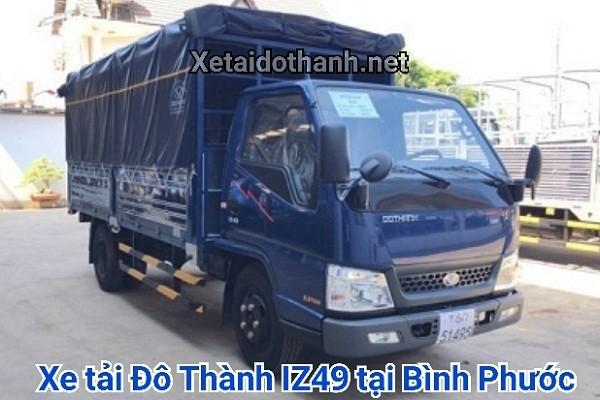 Xe tải Đô Thành IZ49 tại Bình Phước - 2 tấn - Động cơ ISUZU 1