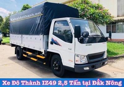 Xe tải Đô Thành IZ49 tại Đăk Nông - 2 tấn - Động cơ ISUSU - Hổ trợ vay 90% xe