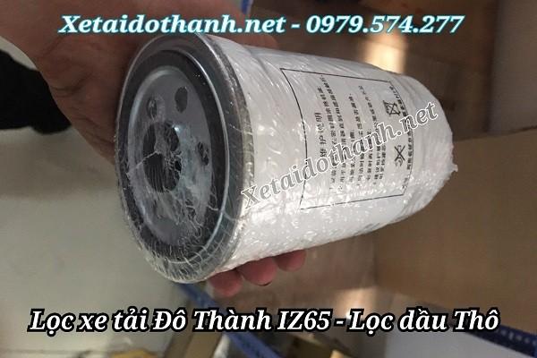 Lọc dầu thô xe tải IZ65 - Phụ tùng Đô Thành IZ65, IZ49 chính hãng 1