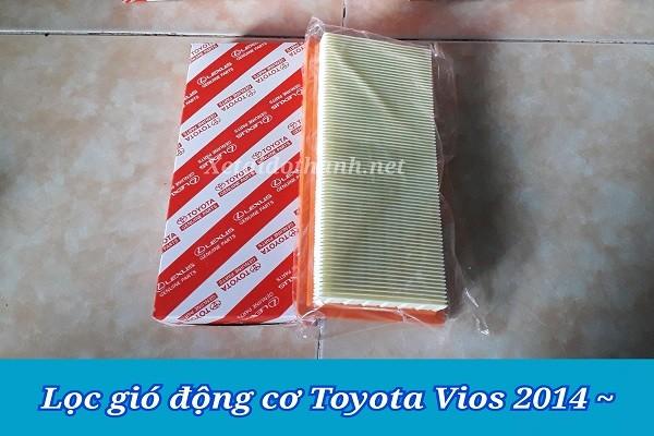 Lọc gió động cơ Toyota Vios - Phụ Tùng Chất Lượng Cao 1