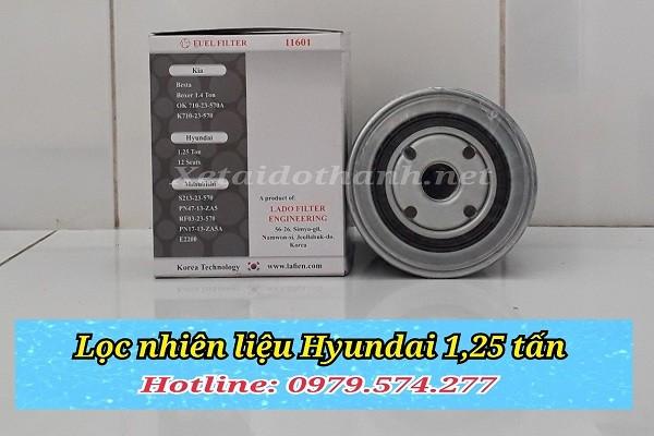 Lọc nhiên liệu Hyundai 1.25 tấn - 11601 - Phụ tùng ô tô Phú Tiến 1