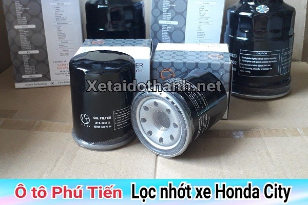 Lọc nhớt xe Honda City - 21301 1
