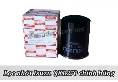 Lọc nhớt Isuzu QKR270 - Phụ Tùng Isuzu chính hãng