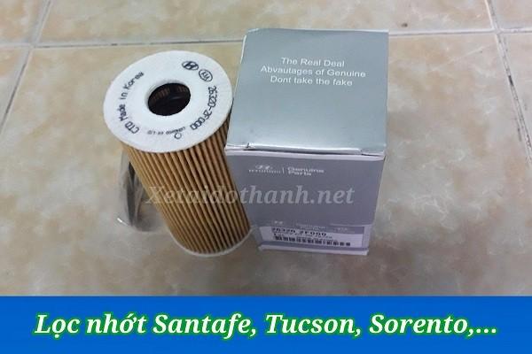 Phụ Tùng Giá Tốt: Lọc Nhớt Hyundai Santafe, Sorento, Tucson, Sedona 1