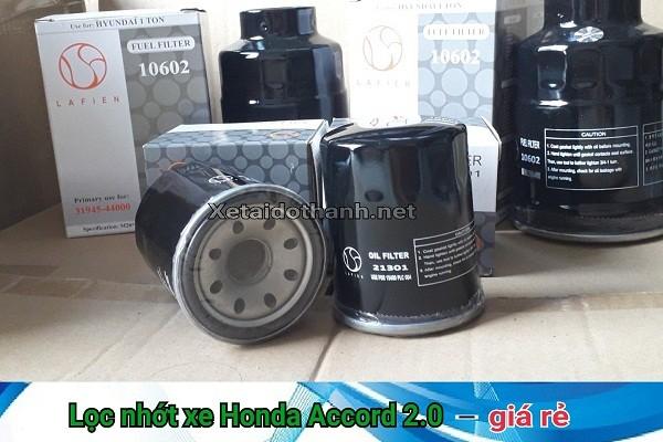 Lọc nhớt xe Honda Accord 2.0 - 21301 1