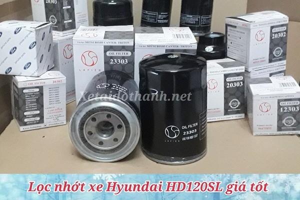 Lọc nhớt xe Hyundai HD120SL - 23303 1