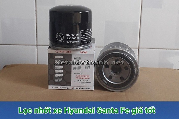 Lọc Nhớt xe Hyundai Santa Fe Máy xăng - 10300 1