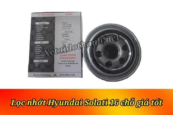 Lọc nhớt xe Hyundai Solati 16 chỗ - Phụ Tùng Ô Tô Phú Tiến 1