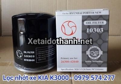 Lọc nhớt xe KIA K3000 - 10303