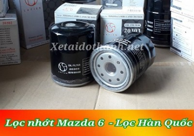 Lọc nhớt xe Mazda 6 - 20303 - Phụ Tùng Ô Tô Phú Tiến