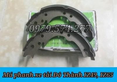 Phụ Tùng Đô Thành: Má Phanh Xe Tải IZ49, IZ65 Giá Tốt Nhất