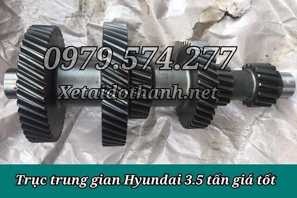 Phụ Tùng Hyundai: Trục Trung Gian Hộp Số HD72 HD99 HD120SL 1