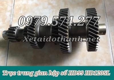 Phụ Tùng Hyundai: Trục Trung Gian Hộp Số HD72 HD99 HD120SL