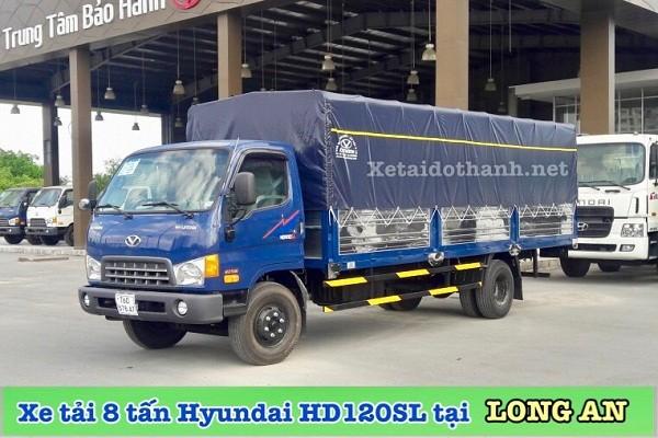XE TẢI 8 TẤN HYUNDAI HD120SL TẠI LONG AN 1