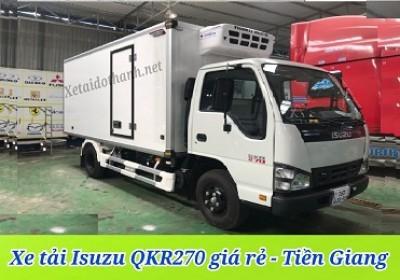 Xe tải ISUZU QKR270 TẠI TIỀN GIANG - 2T5 - VAY 80% XE