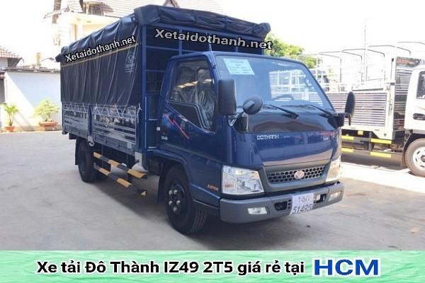 Xe tải Đô Thành IZ49 tại TP. HCM - 2 tấn - Động cơ ISUZU - Hổ trợ vay 90% xe 1