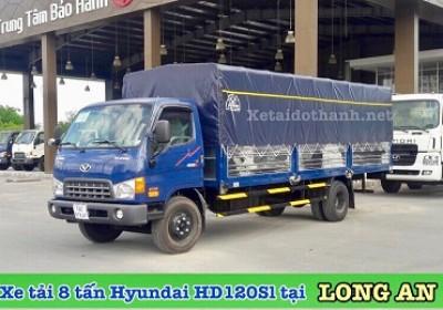 XE TẢI 8 TẤN HYUNDAI HD120SL TẠI LONG AN