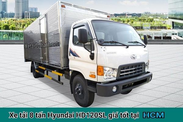 XE TẢI 8 TẤN HYUNDAI HD120SL TẠI TP. HCM - VAY CAO 80% XE 1