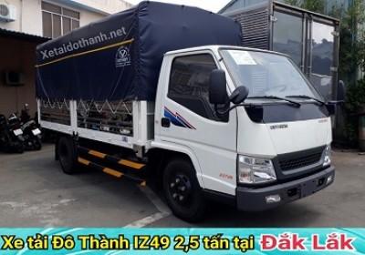 Xe tải Đô Thành IZ49 tại Đắk Lăk - 2 tấn - Động cơ ISUSU - Hổ trợ vay 90% xe