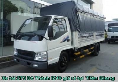 Xe tải Đô Thành IZ49 tại Tiền Giang - 2 tấn - Động cơ ISUSU - Hổ trợ vay 90% xe