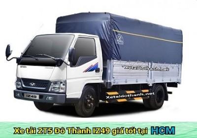 Xe tải Đô Thành IZ49 tại TP. HCM - 2 tấn - Động cơ ISUZU - Hổ trợ vay 90% xe