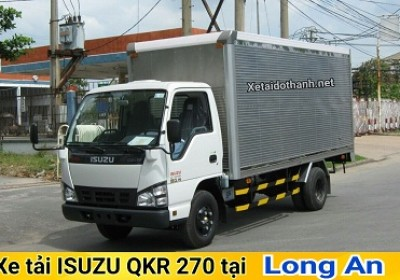Xe tải ISUZU QKR270 TẠI LONG AN - 2T5 -GIÁ RẺ