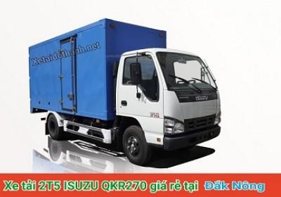 Xe tải ISUZU QKR270 TẠI ĐẮK NÔNG - 2T5 - VAY 80% XE