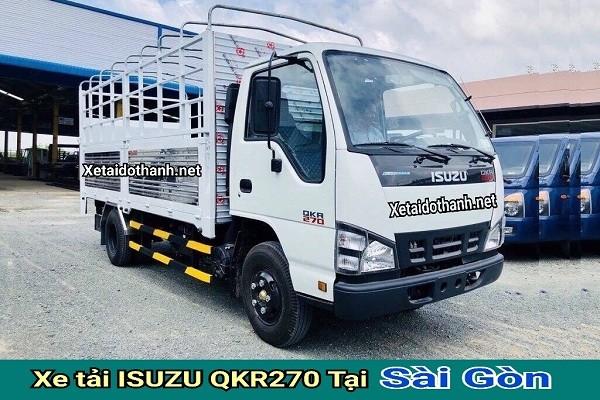Xe tải ISUZU QKR270 TẠI TP. HCM - 2T5 - VAY 80% XE 1