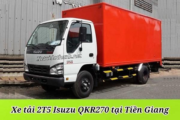 Xe tải ISUZU QKR270 TẠI TIỀN GIANG - 2T5 - VAY 80% XE 1