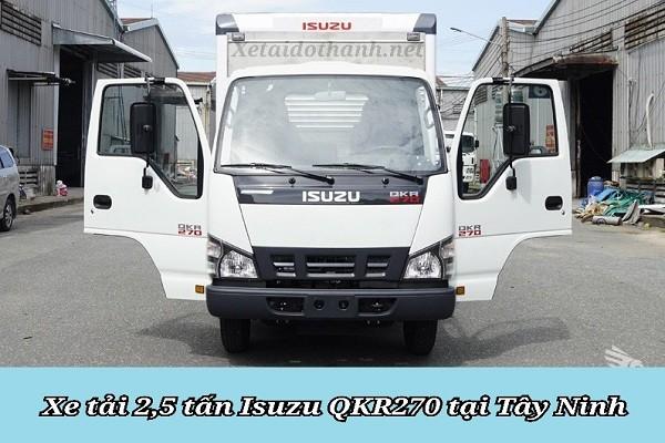 Xe tải ISUZU QKR270 TẠI TÂY NINH - 2T5 - VAY 80% XE 1