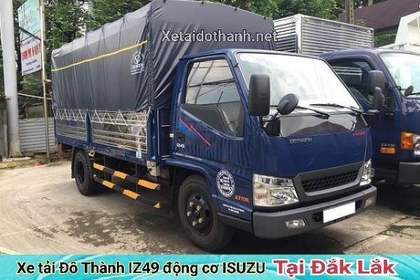 Xe tải Đô Thành IZ49 tại Đắk Lăk - 2 tấn - Động cơ ISUSU - Hổ trợ vay 90% xe 1