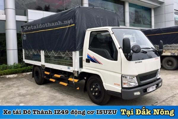 Xe tải Đô Thành IZ49 tại Đăk Nông - 2 tấn - Động cơ ISUSU - Hổ trợ vay 90% xe 1