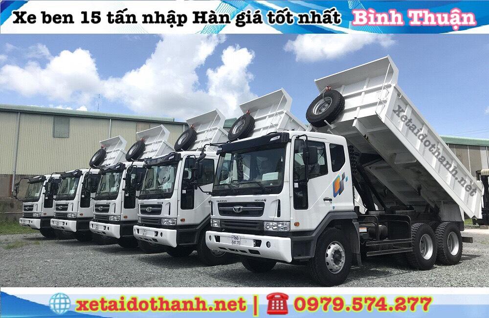 xe ben daewoo Bình Thuận