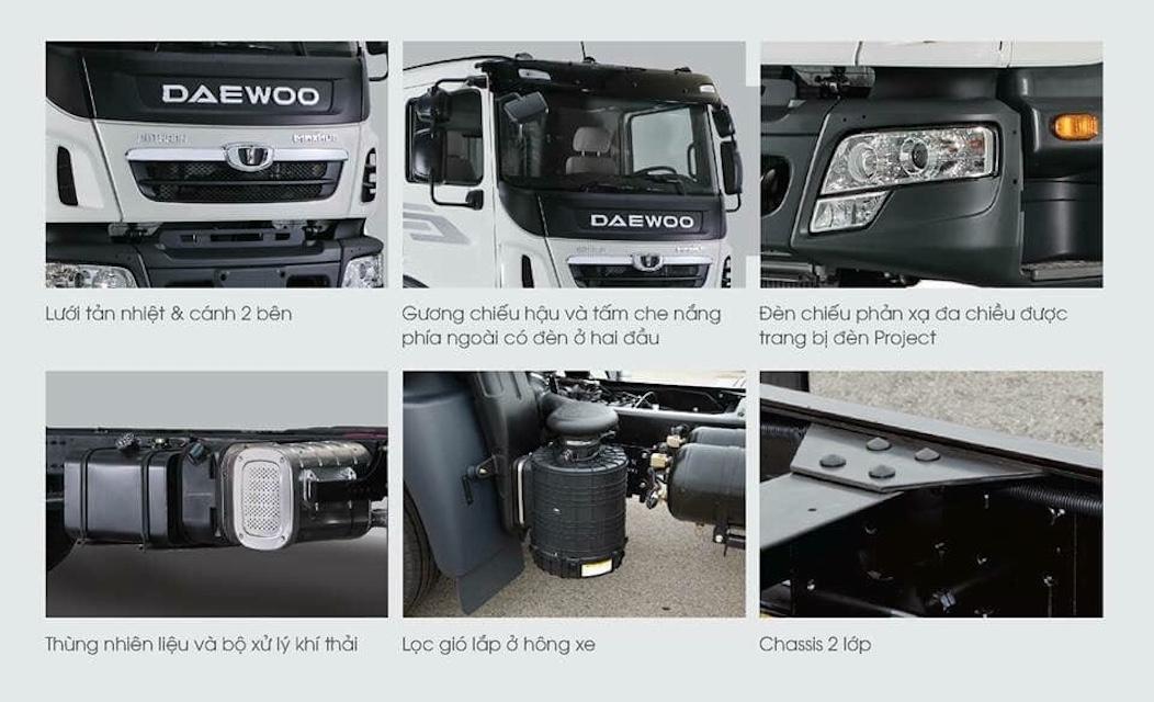 xe tải daewoo 3 chân - gọi 0979-574-277 để có giá tốt nhất