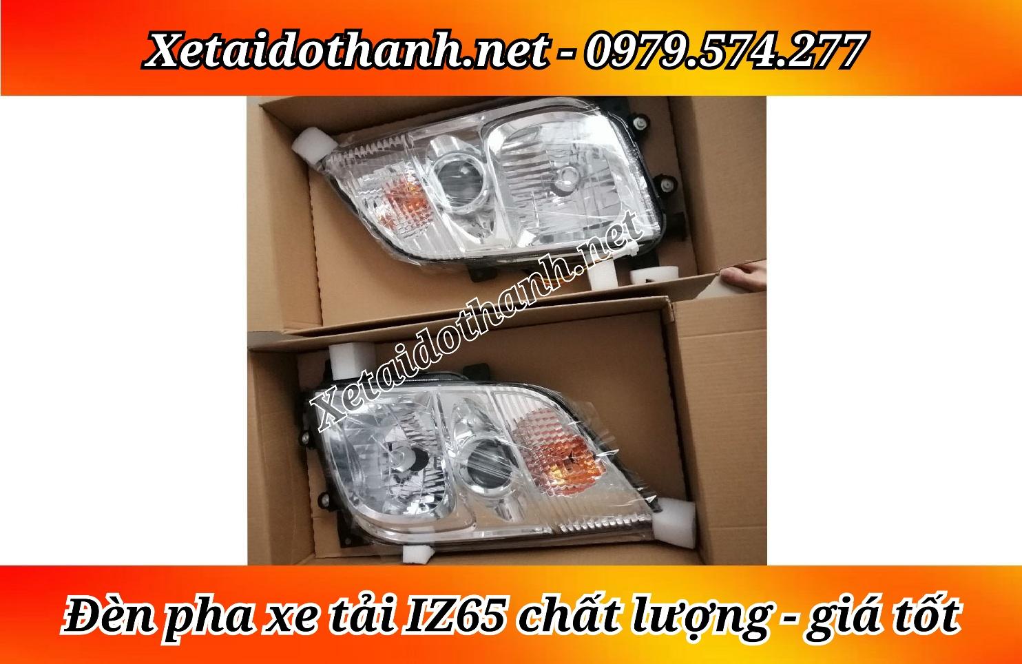 Đèn pha xe tải Đô Thành IZ65