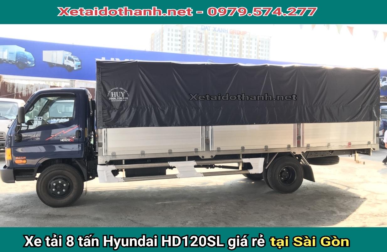 xe tải hyundai hd120sl 8t tại hcm