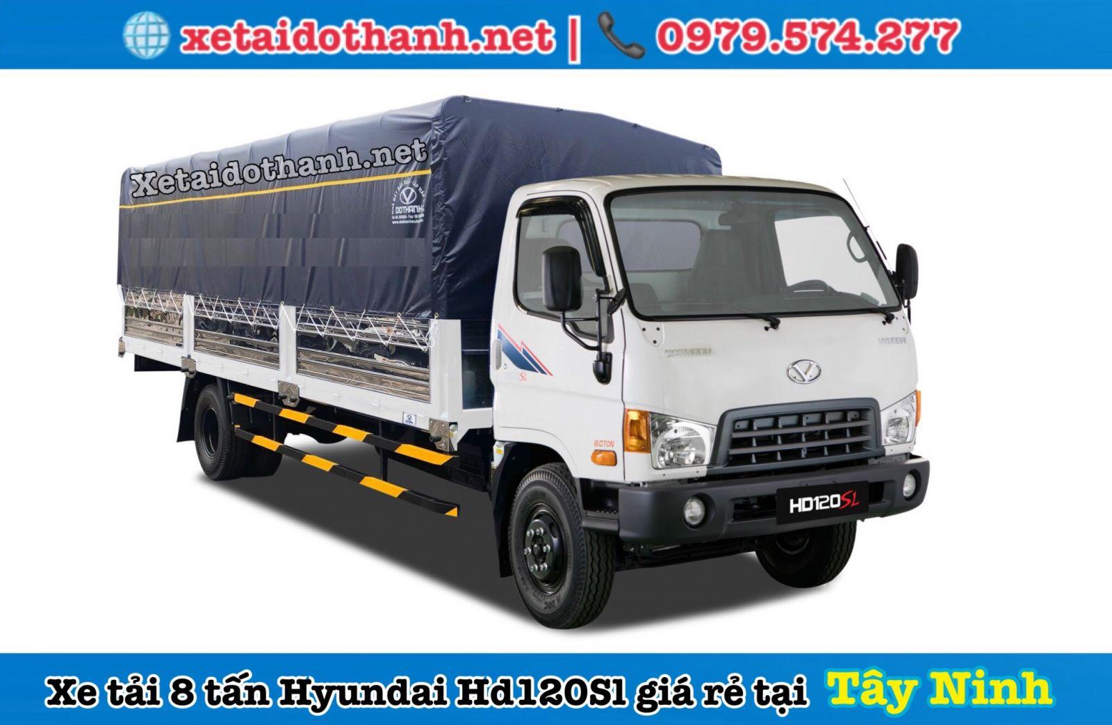 Xe  Hyundai HD120SL tây ninh