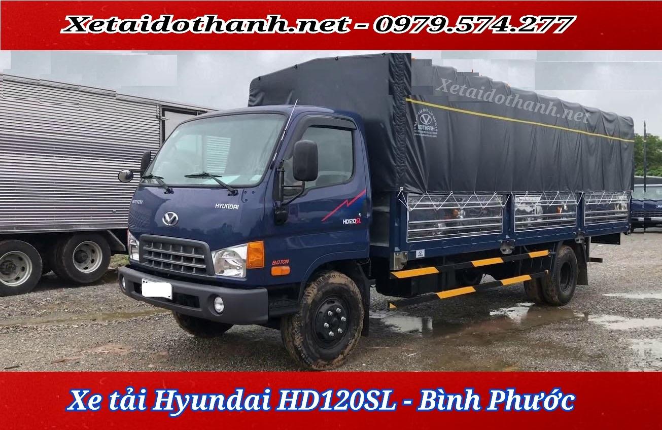 xe hd120sl 8 tấn