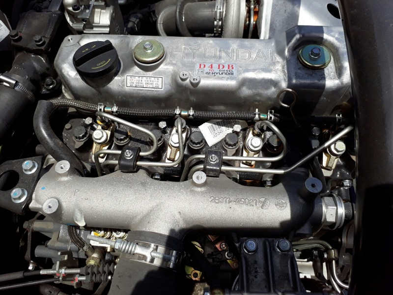 Động cơ Hyundai HD800