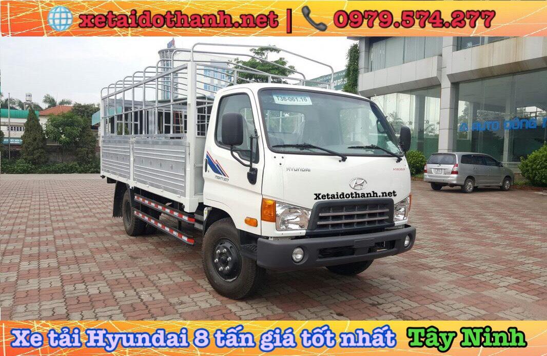 Xe tải Hyundai 8 tấn giá rẻ tại Tây Ninh
