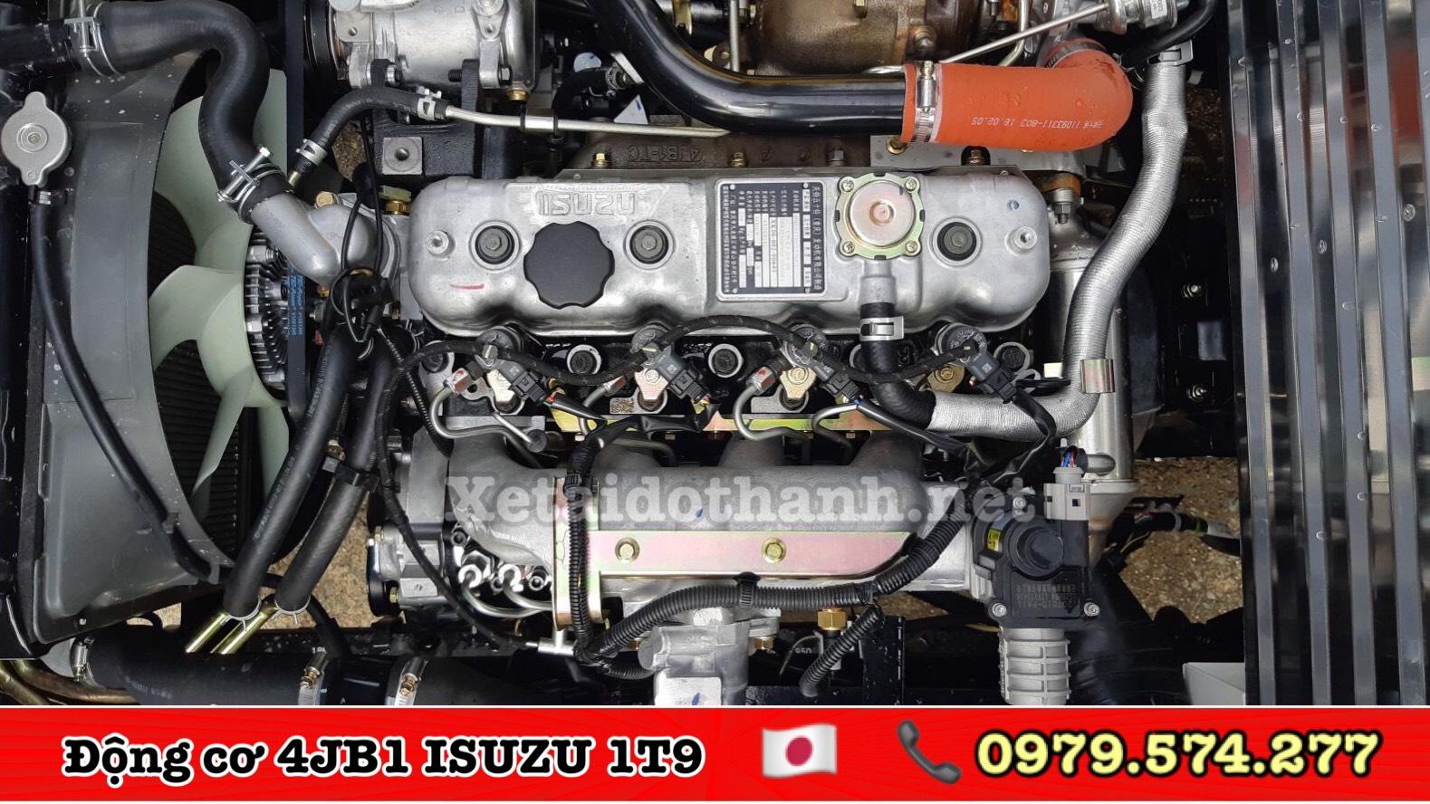Động cơ xe Isuzu 1t9