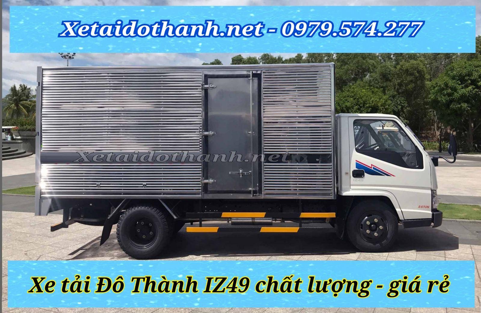 Xe tải Đô Thành IZ49 chất lượng, giá rẻ