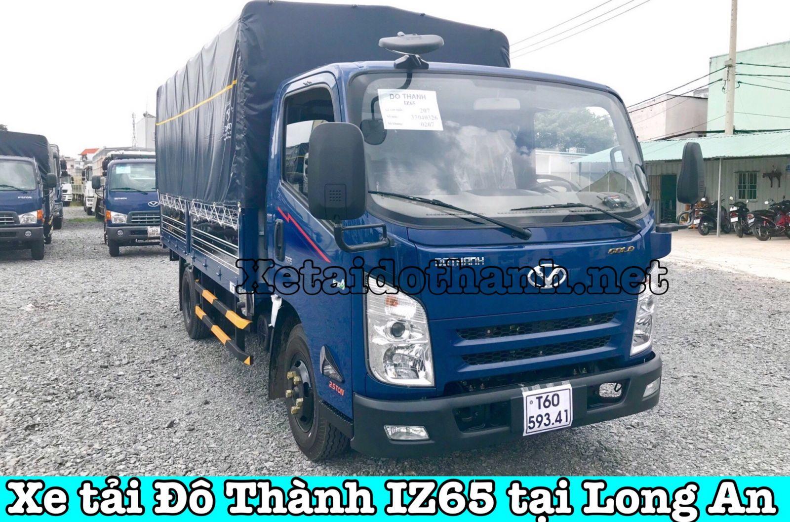 Xe tải Đô Thành IZ65 tại Long An