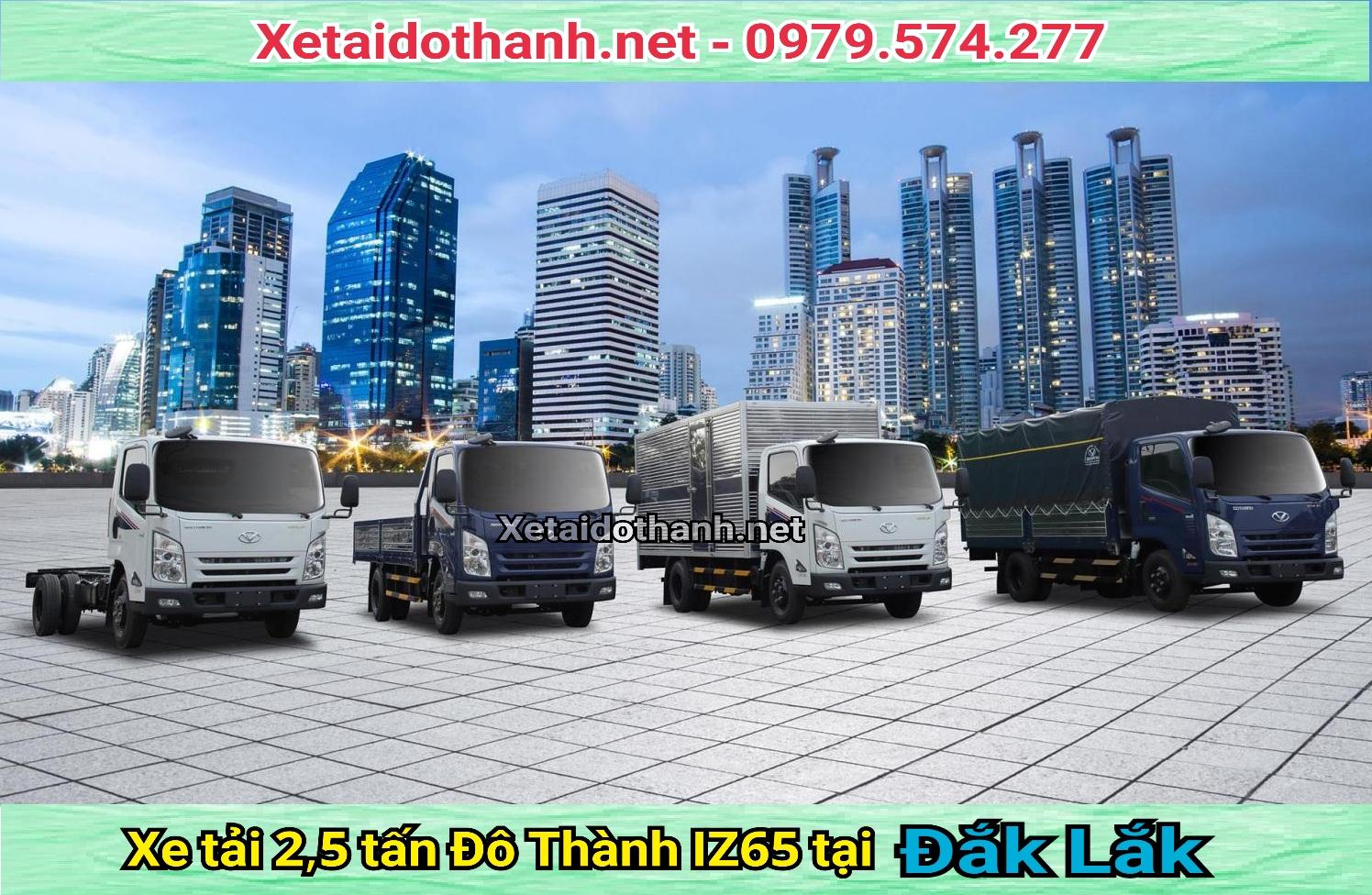 Xe tải Đô Thành 2,5 Tấn IZ65